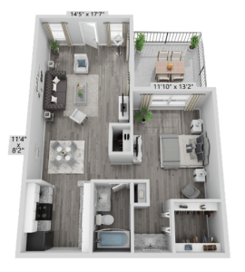 A1 – Furnished